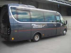 мікроавтобуси рента мадридські посли анбаядзоры