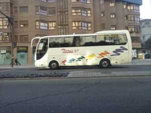 Minibus XNUMx sedili Madrid