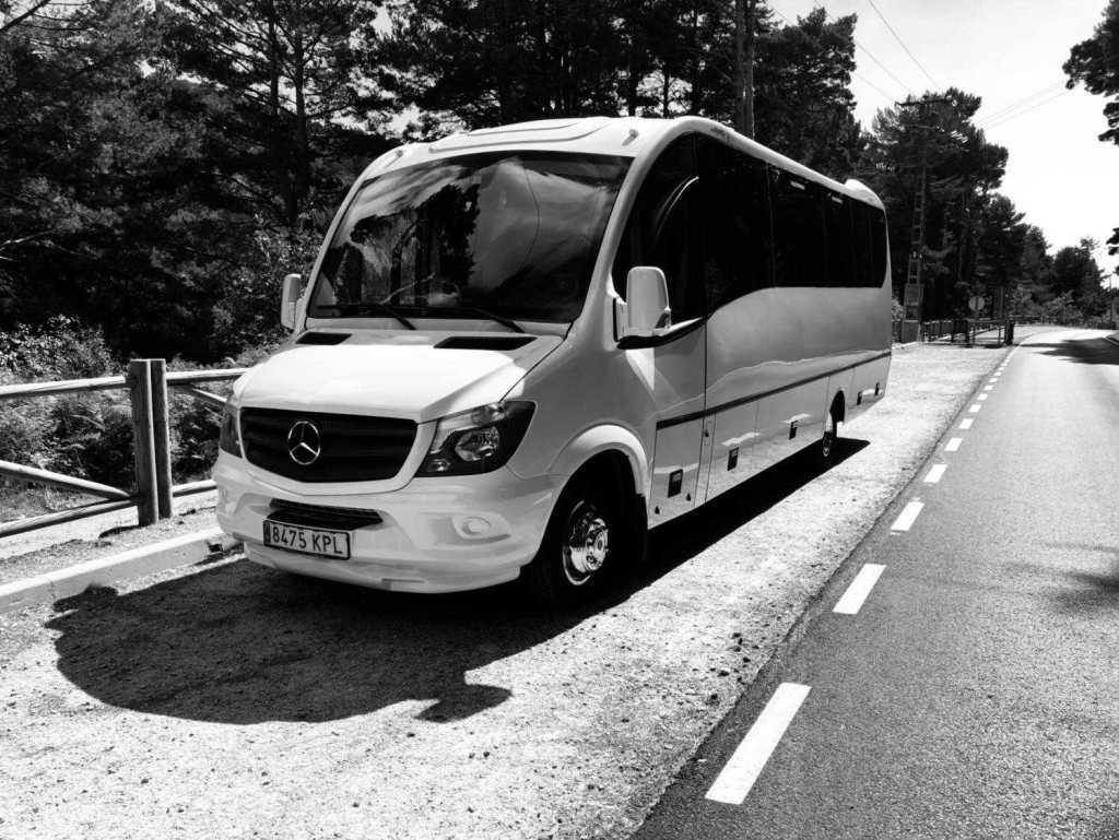 Nuoma Mercedes Sprinter 31 sėdynių mikroautobusas