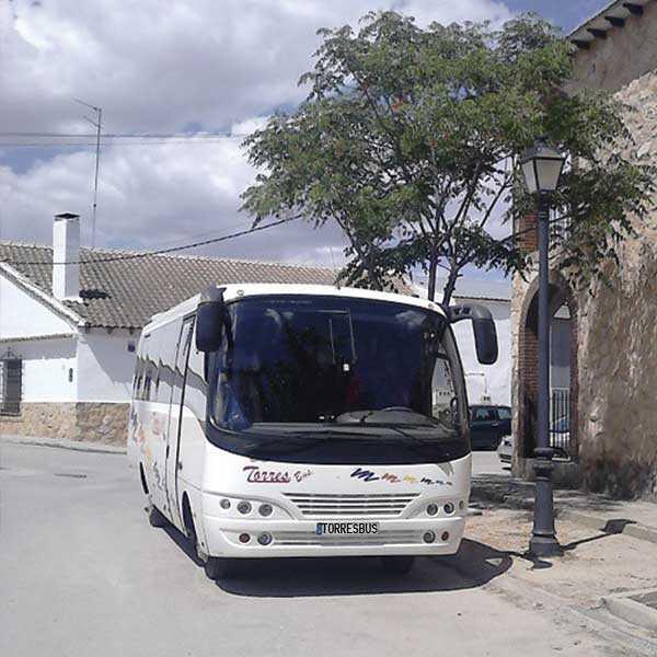 location de minibus Sièges 25 avec chauffeur madrid
