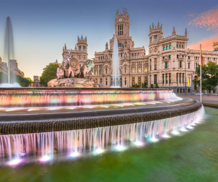 Madrid palaces to visit and travel in time
