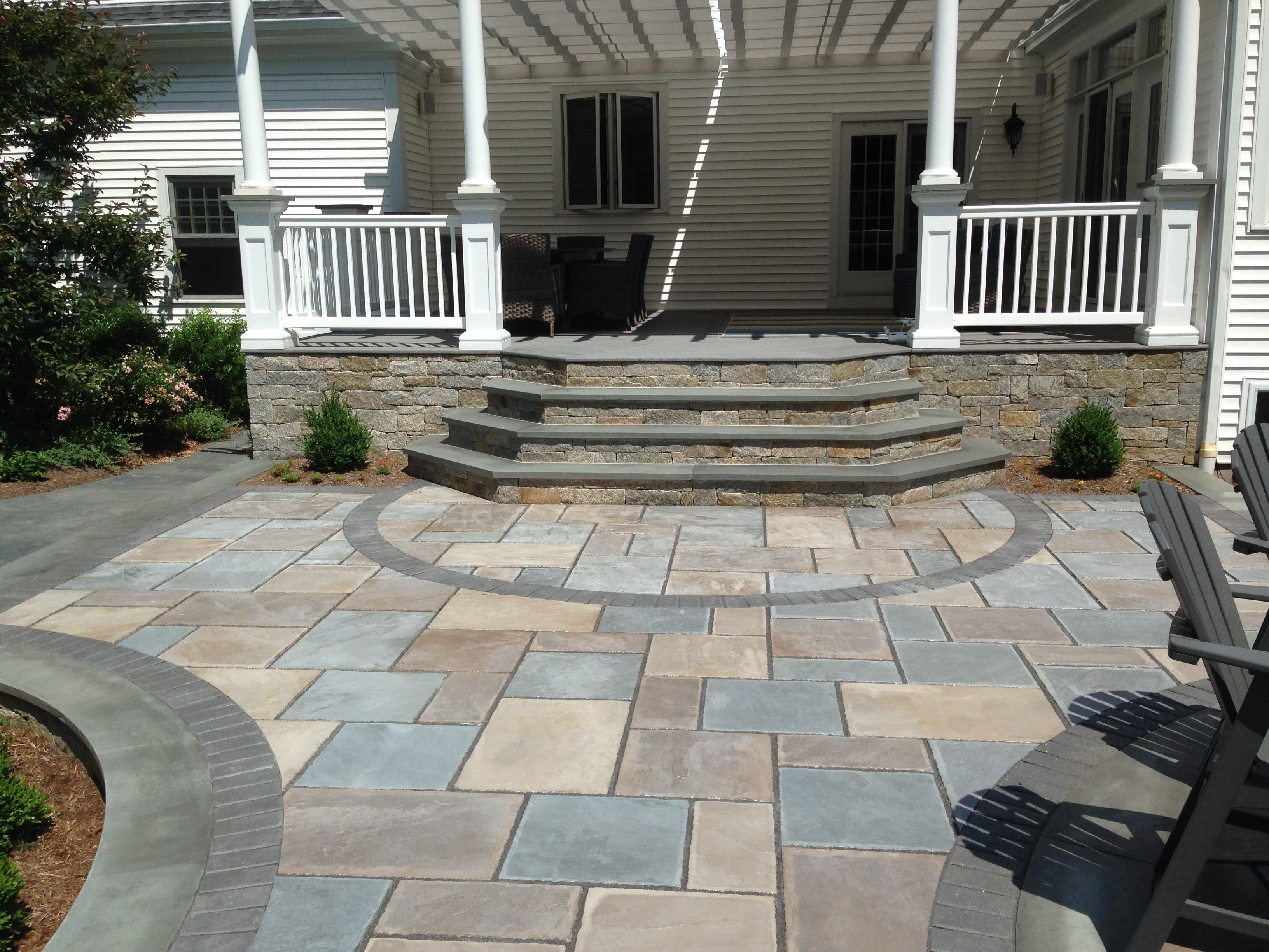 Patios|Bluestone|Pavers|Photo Gallery|Torrison Stone ... on Rock Patio Designs  id=13418