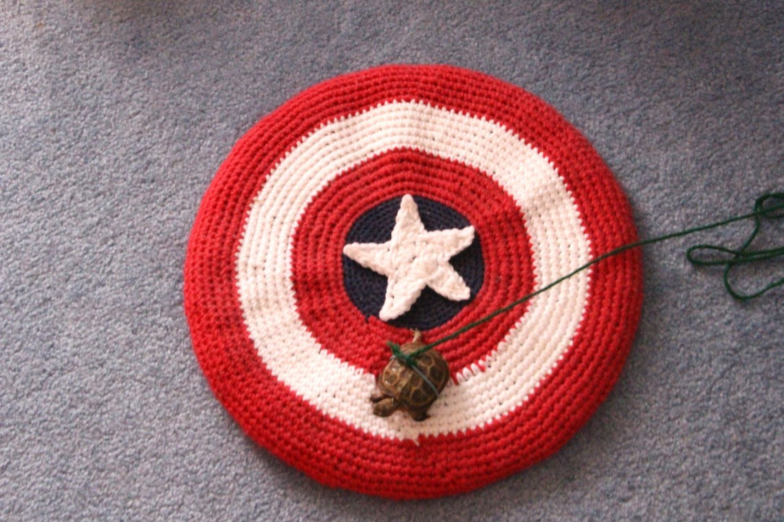 Perfect!  A giant Cap shield!