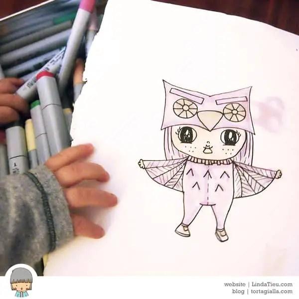 LTieu-owl-girl