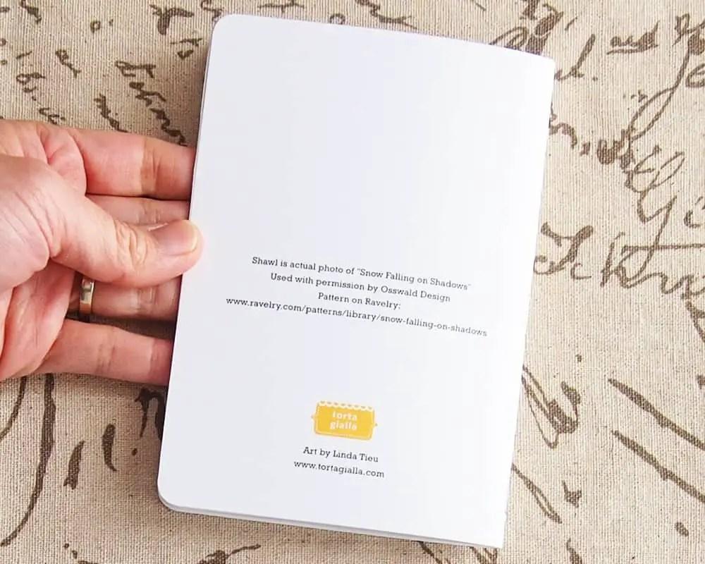 back of pocket notebook credits
