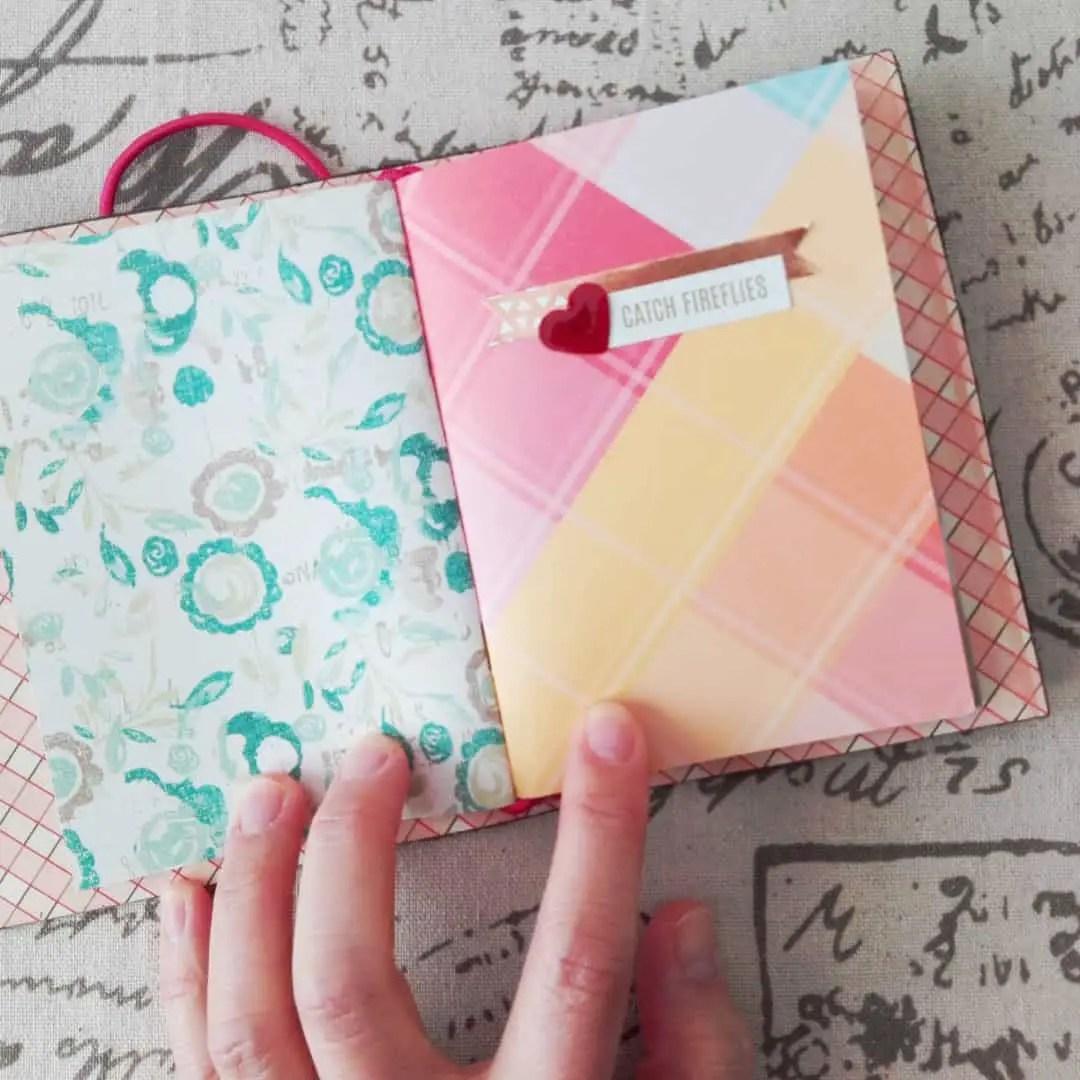 passport size traveler's notebook with insert