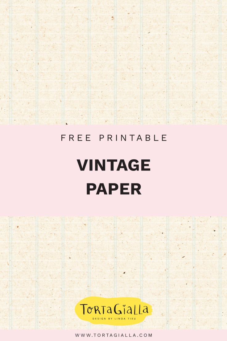 free printable vintage journal pages