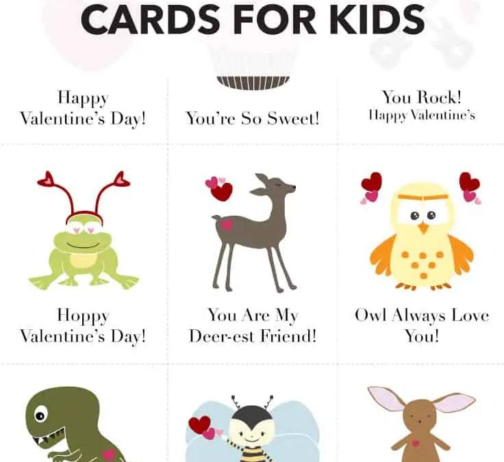 FREE Printable Valentine's Day Cards on Kenarry.com