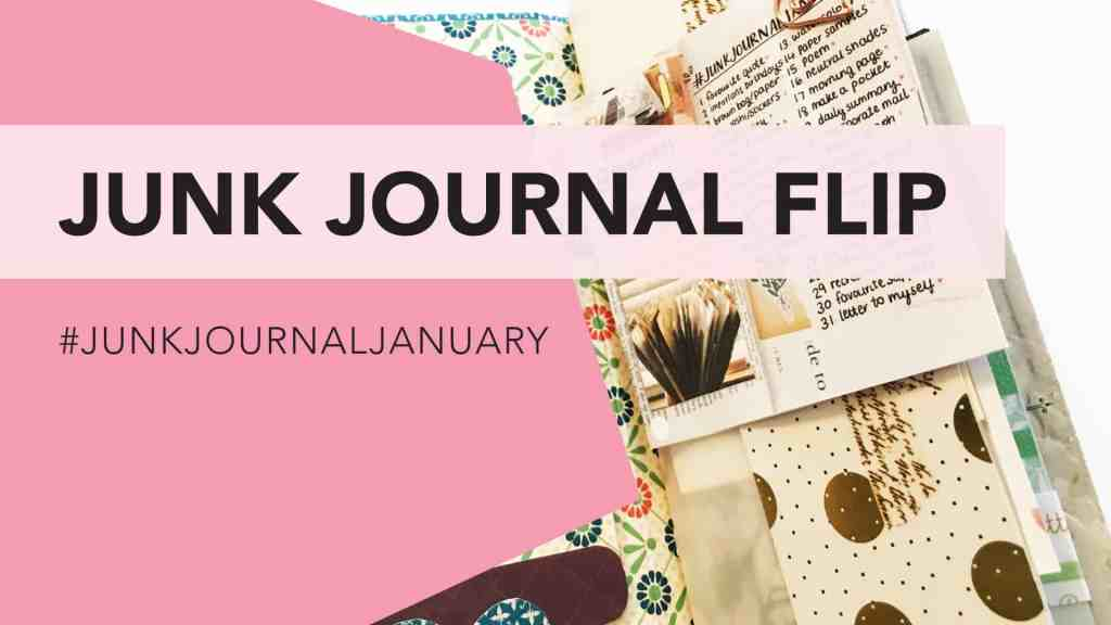 Junk Journal Flip Through | #junkjournaljanuary - video on tortagialla.com