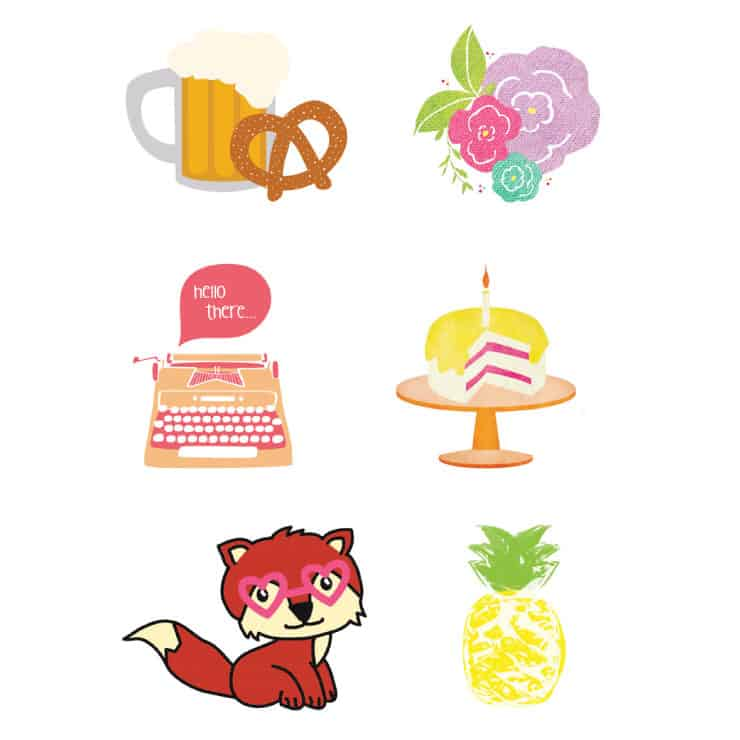cute printable stickers