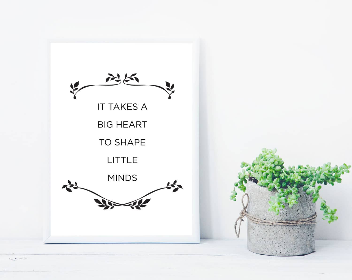 photo about It Takes a Big Heart to Shape Little Minds Printable identified as Free of charge Printable Trainer Appreciation Estimates tortagialla