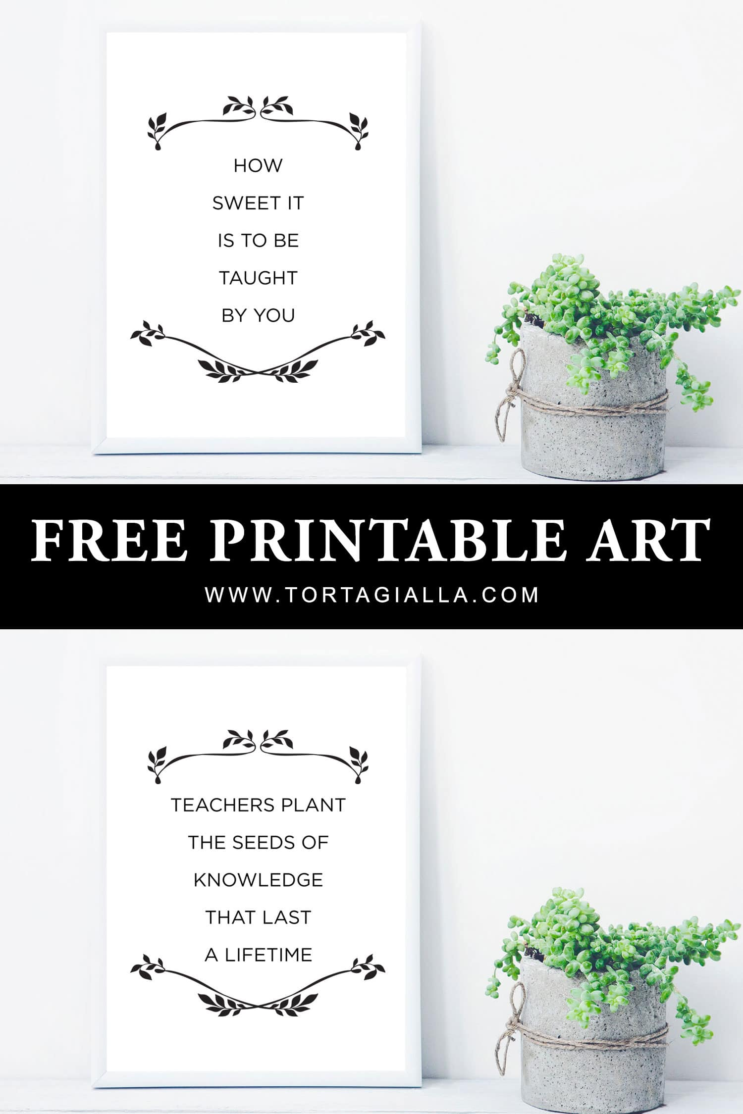 image about Free Printable Teacher Appreciation Quotes called Totally free Printable Instructor Appreciation Offers tortagialla
