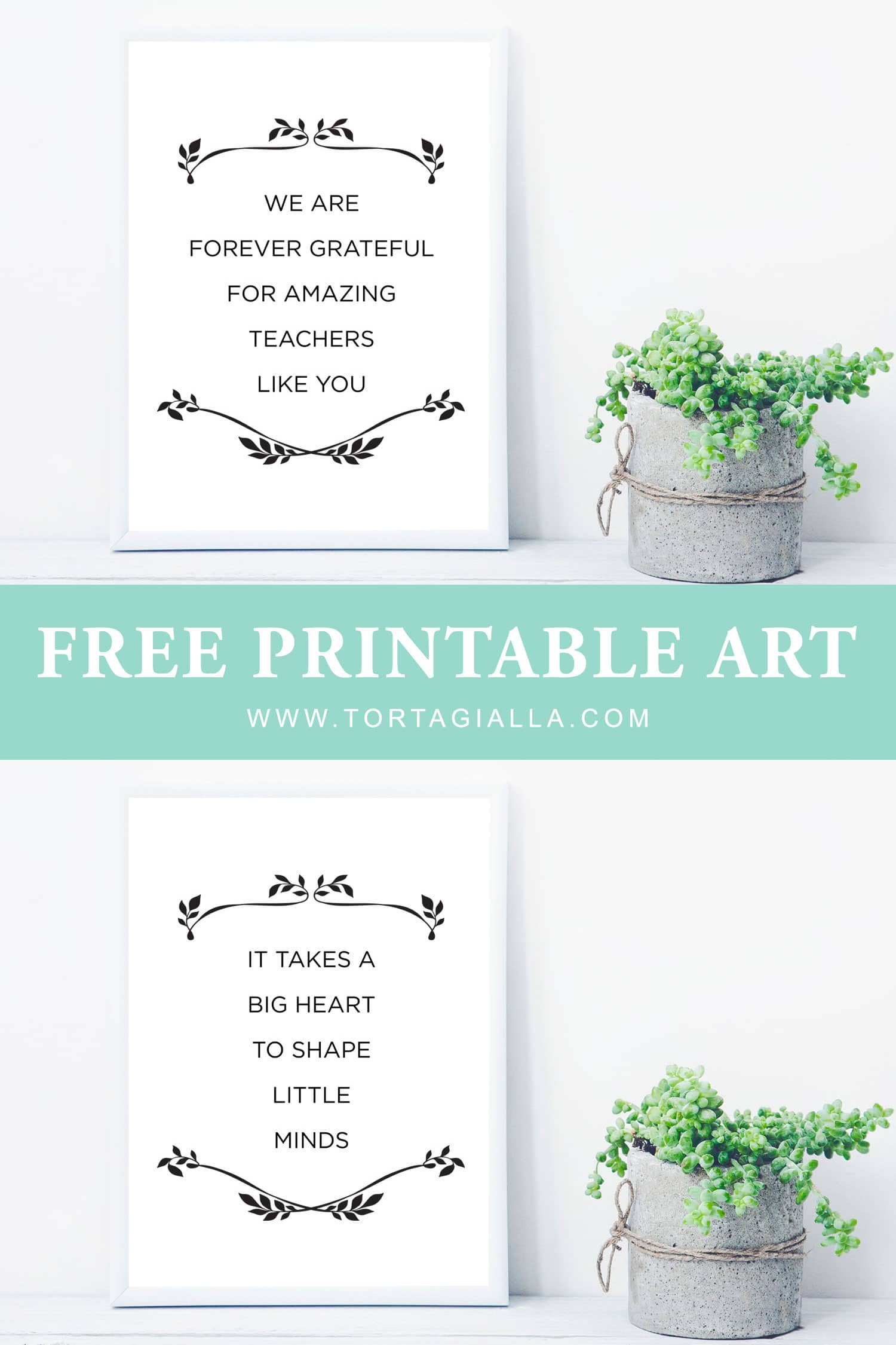 graphic regarding Free Printable Teacher Appreciation Quotes named Free of charge Printable Trainer Appreciation Offers tortagialla