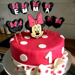 minnie mouse motivtorte tortenliebe. Black Bedroom Furniture Sets. Home Design Ideas