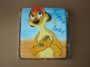 A meerkat-Timon, for Timon´s 1st Birthday