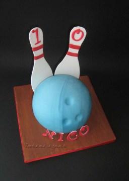 Birthday Ball Cake