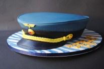 Flugzeug Kapitän Hut