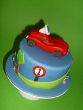 Little Bobby Car Cake- for Max´s 1st Birthday