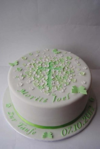 Tauftorte - Christening Cake for a Boy