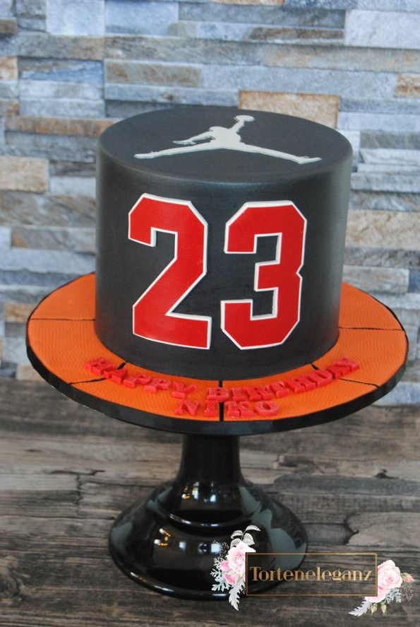Basketball Torte Air Jordan Kuchen