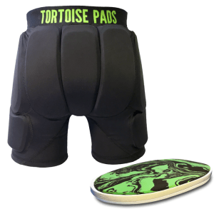 T2 Shorts with dual density pad
