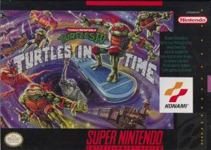 1992 Turtles in time