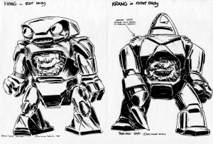 Krang Android Body 1987 Peter Laird
