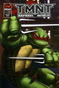 Raphael Movie Prequel Comics Mirage 2007 couverture