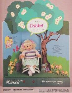 Cricket Playmates Toys