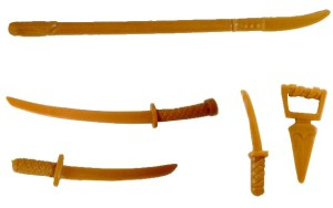Accessoires Usagi Yojimbo 1989