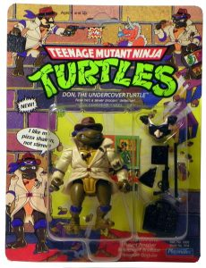 Blister 1 Don the undercover turtle 1990