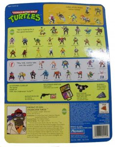 Blister 2 Don the undercover turtle 1990