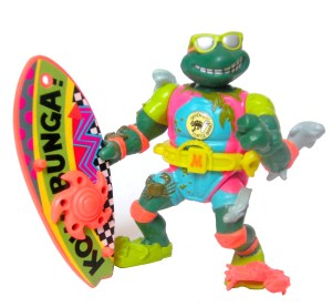 Figurine Mike the sewer Surfer 1990