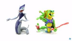 Comparaison Figurine Serpent Karai 2015 et Scale Tail