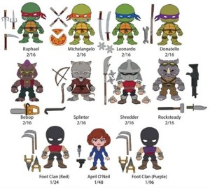 Figurines promo The Loyal Subjects TMNT 2015