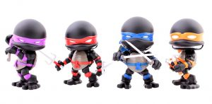 Figurines Stealth Turtles The Loyal Subjects SDCC15 2015