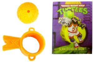 Accessoires Slam dunkin' Don blanc réédition 1994 1991 Tortues Ninja TMNT