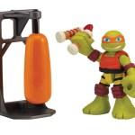 Figurine HSH Dojo Mikey with training bag 2015 Tortues Ninja TMNT