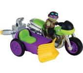 SHS Véhicule Rippin' Rider with biker Donnie 2014 Tortues Ninja TMNT 2