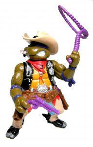 Figurine Crazy Cowboy Don 1992 Tortues Ninja TMNT