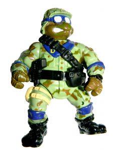Figurine Delta Team Don 1992 2 Tortues Ninja TMNT