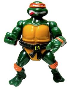 Figurine Head Droppin' Mike 1991 Tortues Ninja TMNT