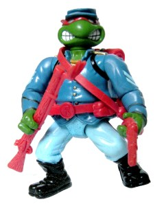 Figurine Yankee Doodle Raph 1992 Tortues Ninja TMNT