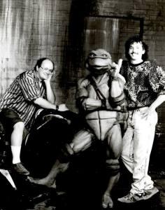 Kevin Eastman Peter Laird Leonardo 1989 Film Tortues Ninja TMNT 1990