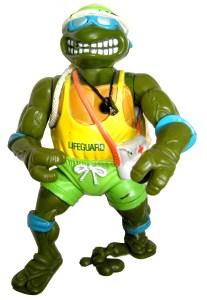 Figurine Lifeguard Leo 1992 Tortues Ninja Turtles TMNT
