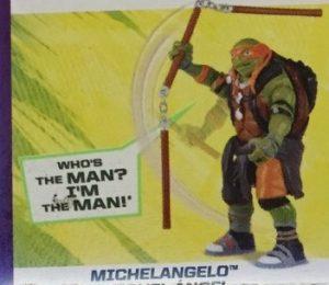 Image Deluxe Michelangelo Film Ninja Turtles 2016 Tortues Ninja TMNT