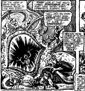 Spasmosaur Mirage Comics 1986