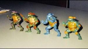 Figurines Premiers prototypes 1987 Tortues Ninja Turtles TMNT