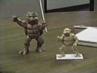 Premiers prototypes janvier 1987 Tortues Ninja Turtles TMNT