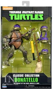 Blister Classic Collection Donatello The Secret of the Ooze 2016 Tortues Ninja Turtles TMNT